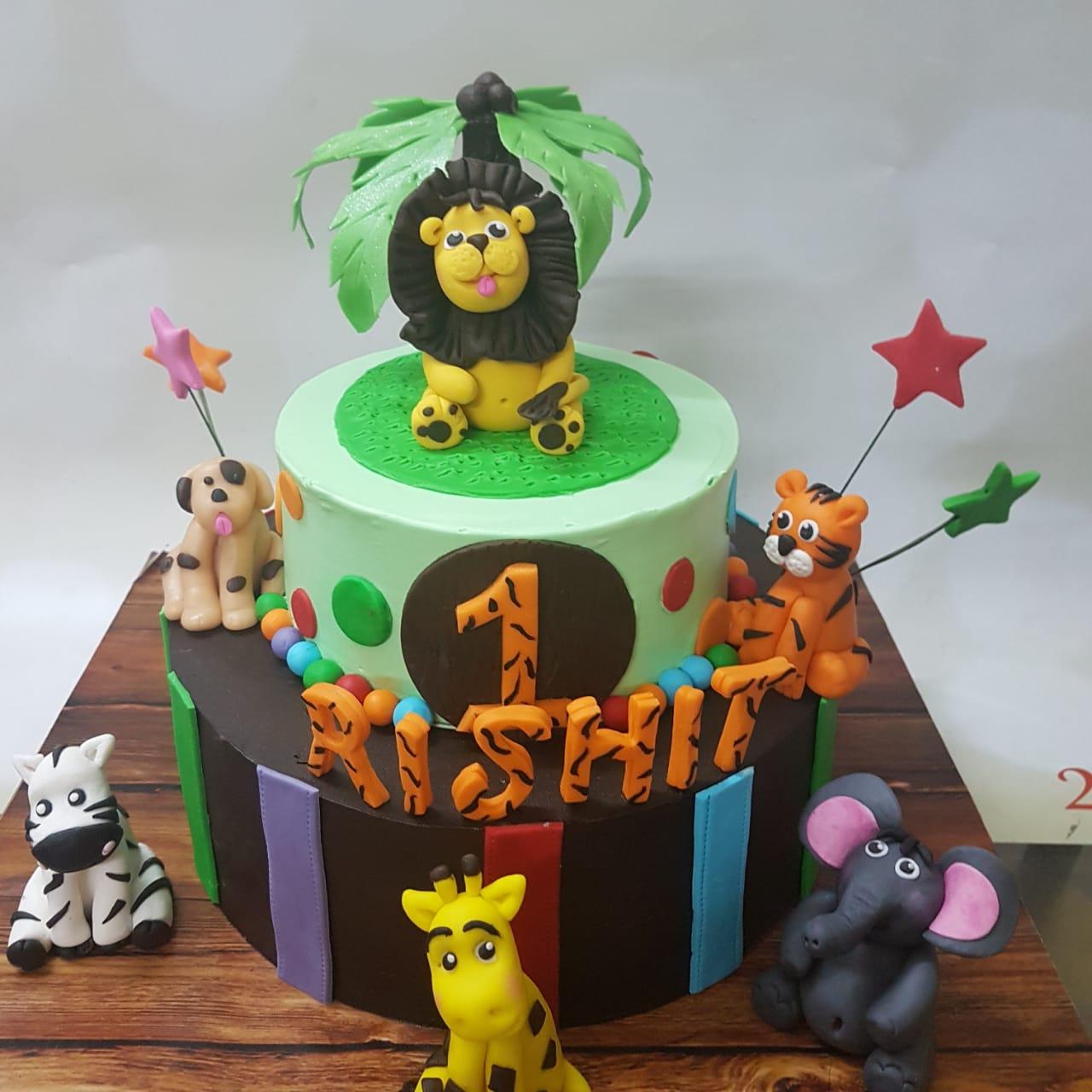 Cake for Rishit - by Shalini Salve