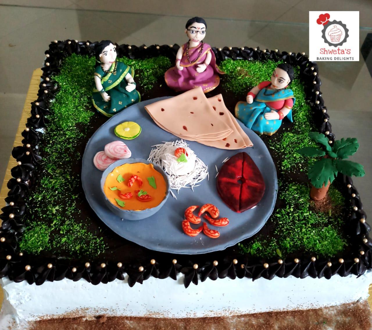 Food Thali Cake