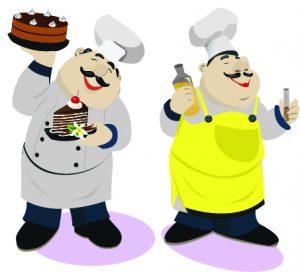 Cooking vs Cake Baking