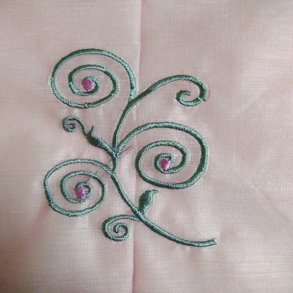 clean embroidery