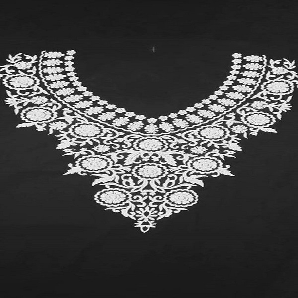 Black Embroidery design