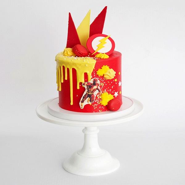 Flash-theme-cake