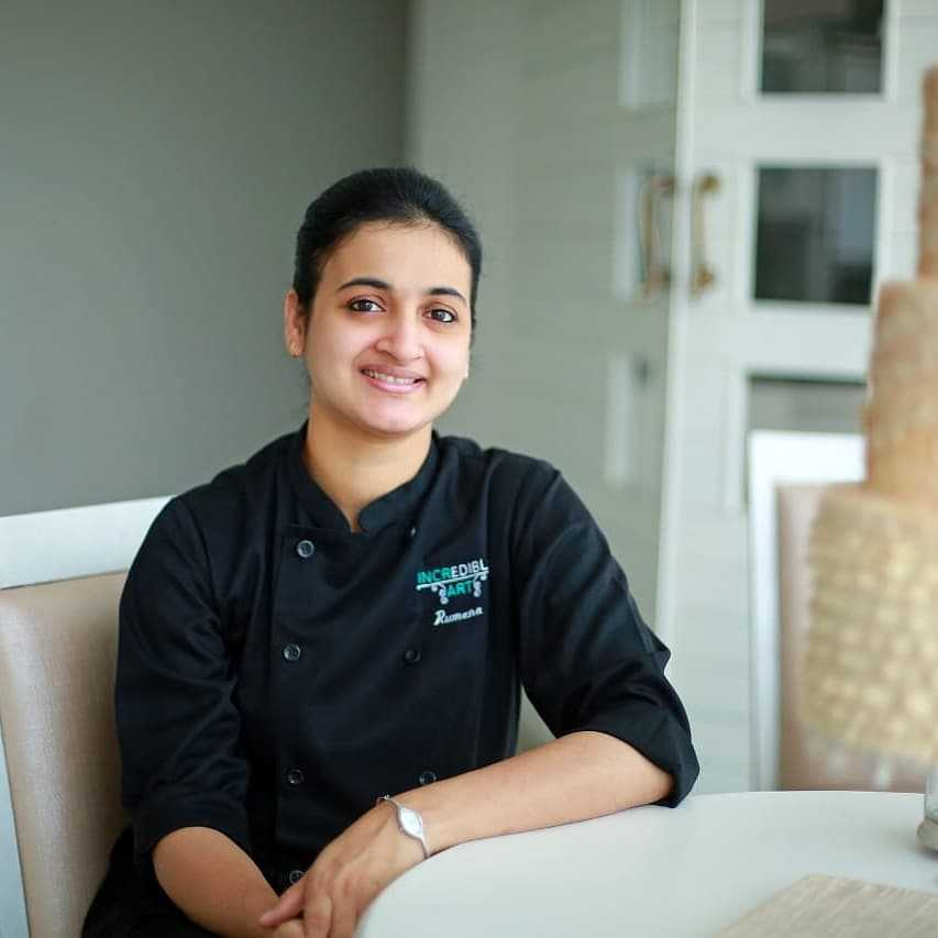 Pastry Chef Rumana Jaseel's – Interview