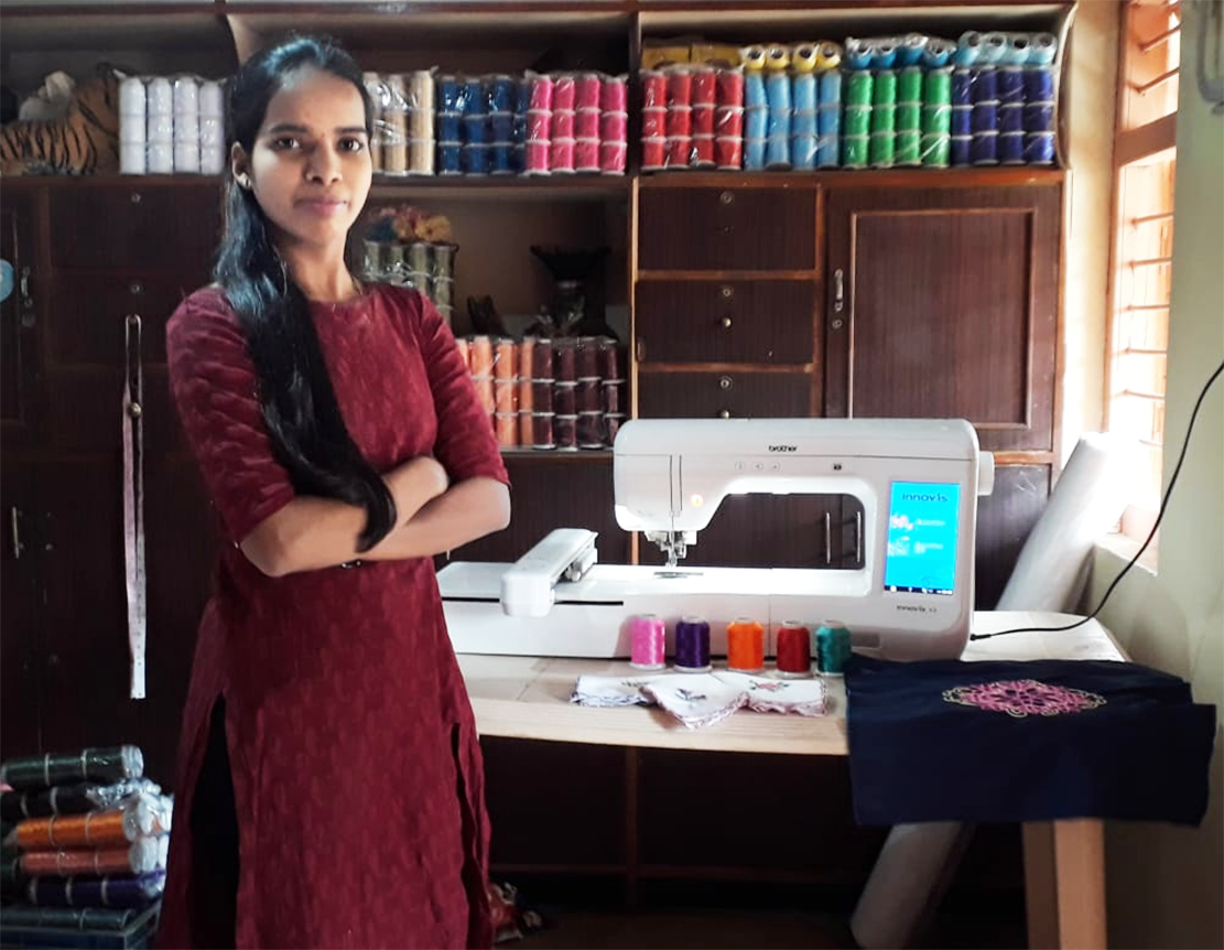 Embroidery Creator Sapana Gulave's – Interview