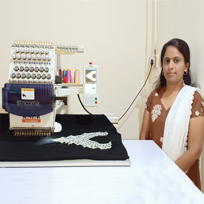 Embroidery Creator Sonali Bhosale's – Interview