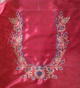 Embroidery work by Sapna Gulave