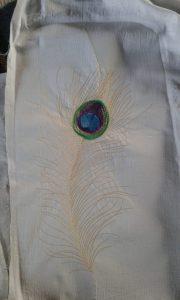 Embroidery work by Sapana Gulave
