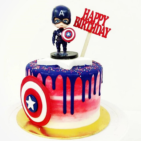 Fine Top 10 Superhero Cakes With Best Designs You Can Buy Blog Funny Birthday Cards Online Elaedamsfinfo