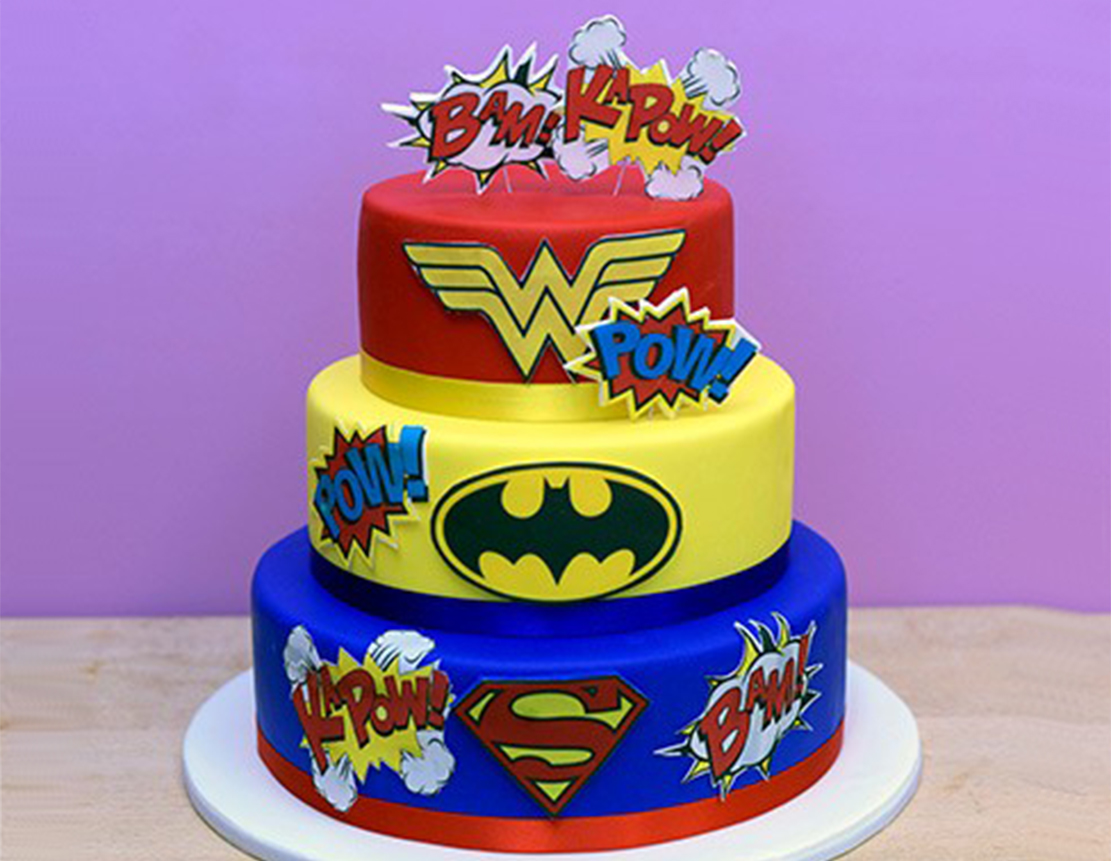 Top 10 Superhero Cakes with Best Designs