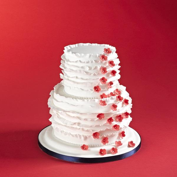 Ruffled Cakes | Bulb And Key