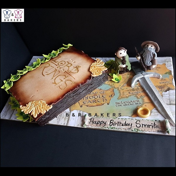 Tasneem Cake 2 | bulb and key