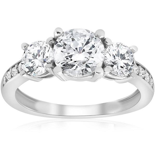 Three Stone Ring | Bulb And Key