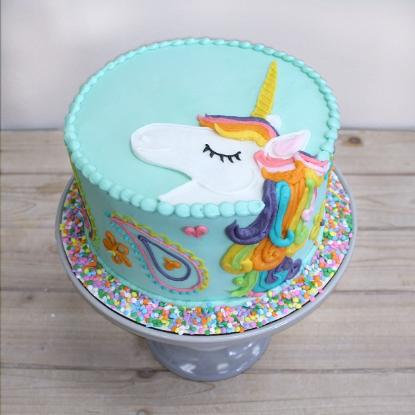 Unicorn Cake 8 | Bulb And Key