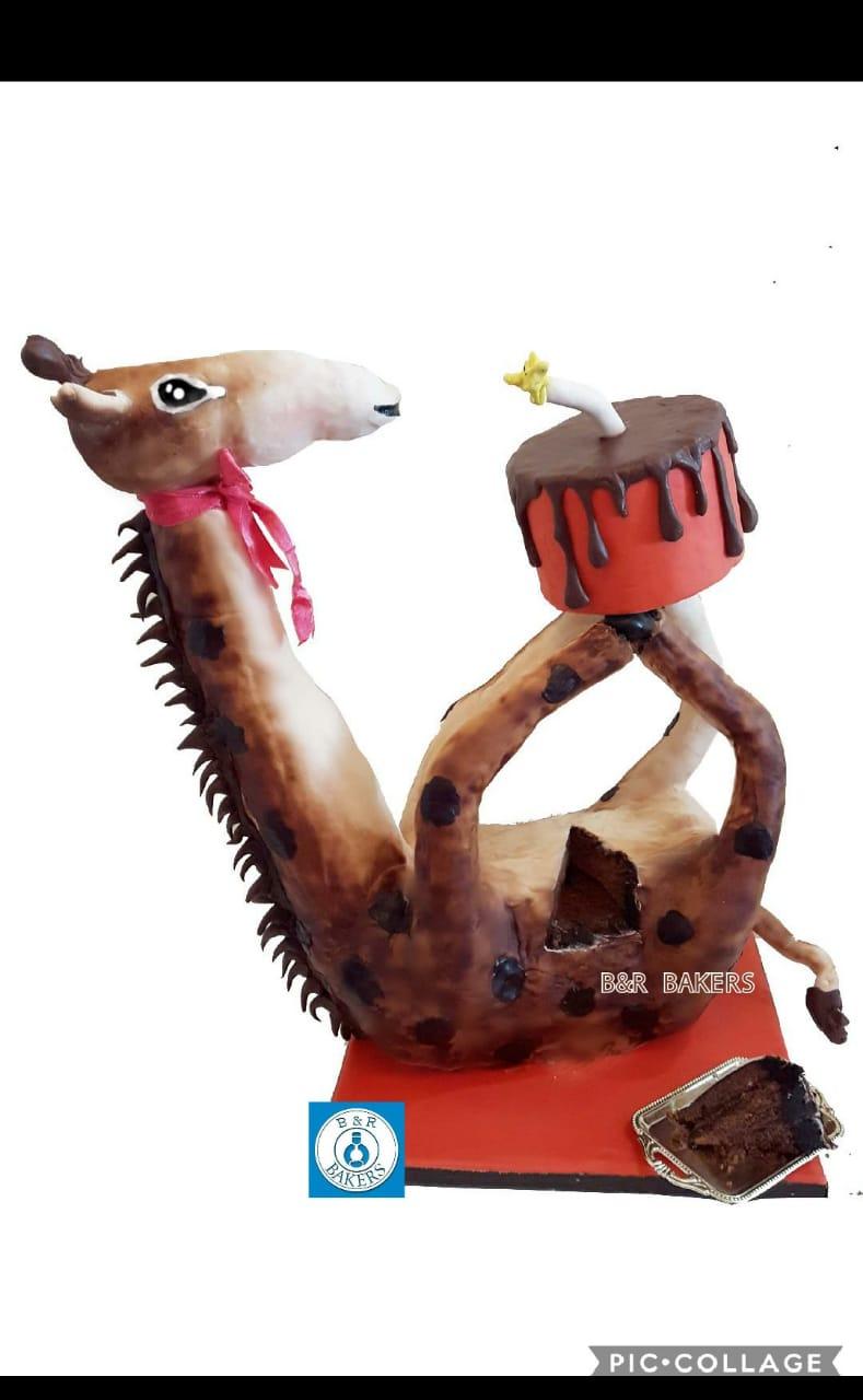 Giraffe Cake