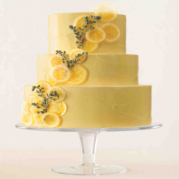 lemon and tyme cake