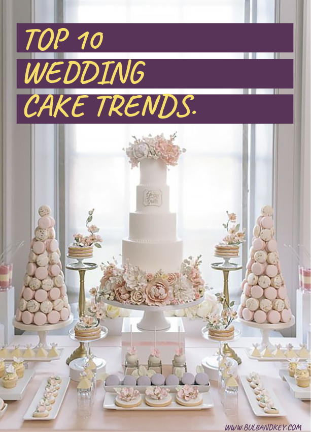 Top 10 Wedding Cake Trends