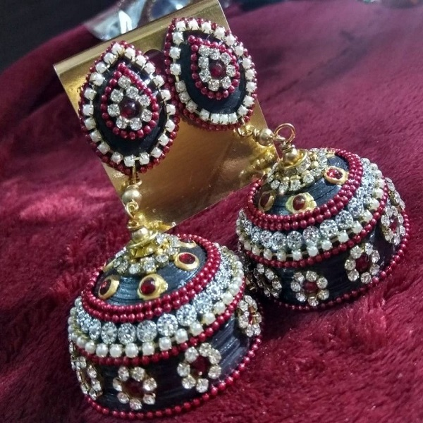 Light Weight Bridal Jhumka