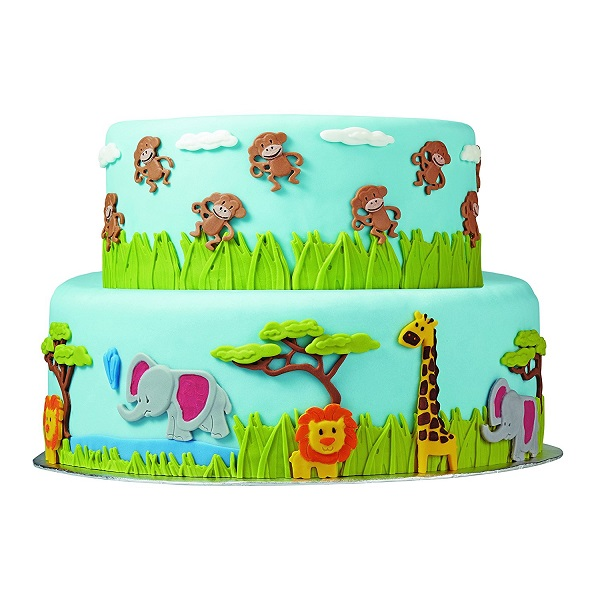 Animal Topper Cake | Bulb And Key