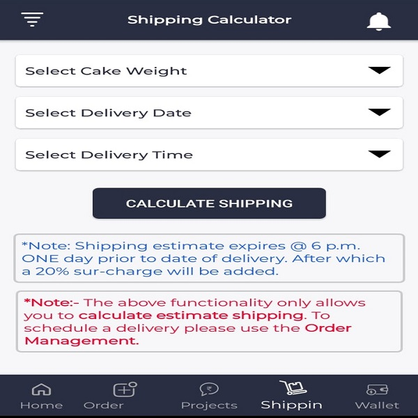 Shipping-Calculator | bulb and key