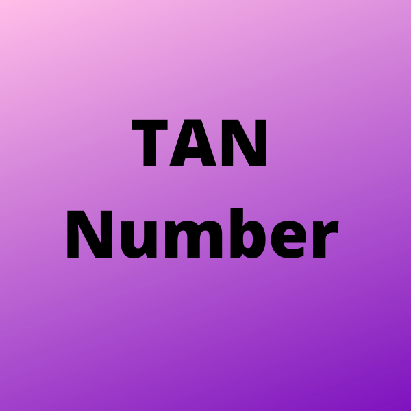 TAN Number | Bulb And Key