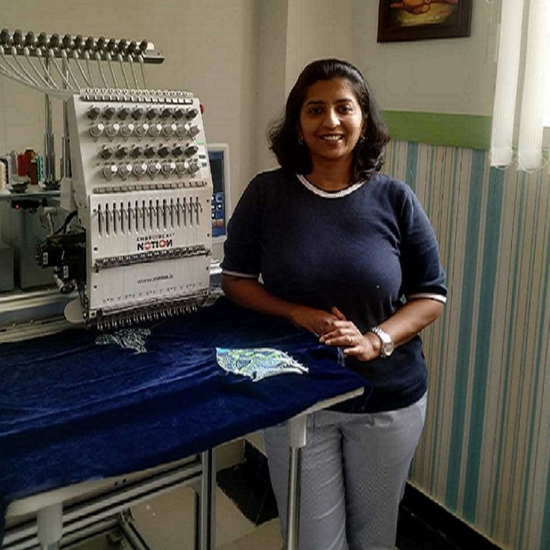 Exploring The Unknown, One Weave At A Time- Embroidery Artist Trupti Jog's Adventurous Journey