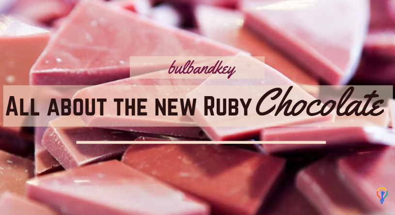 [Tuesday Scoop] All about the new Ruby Chocolate