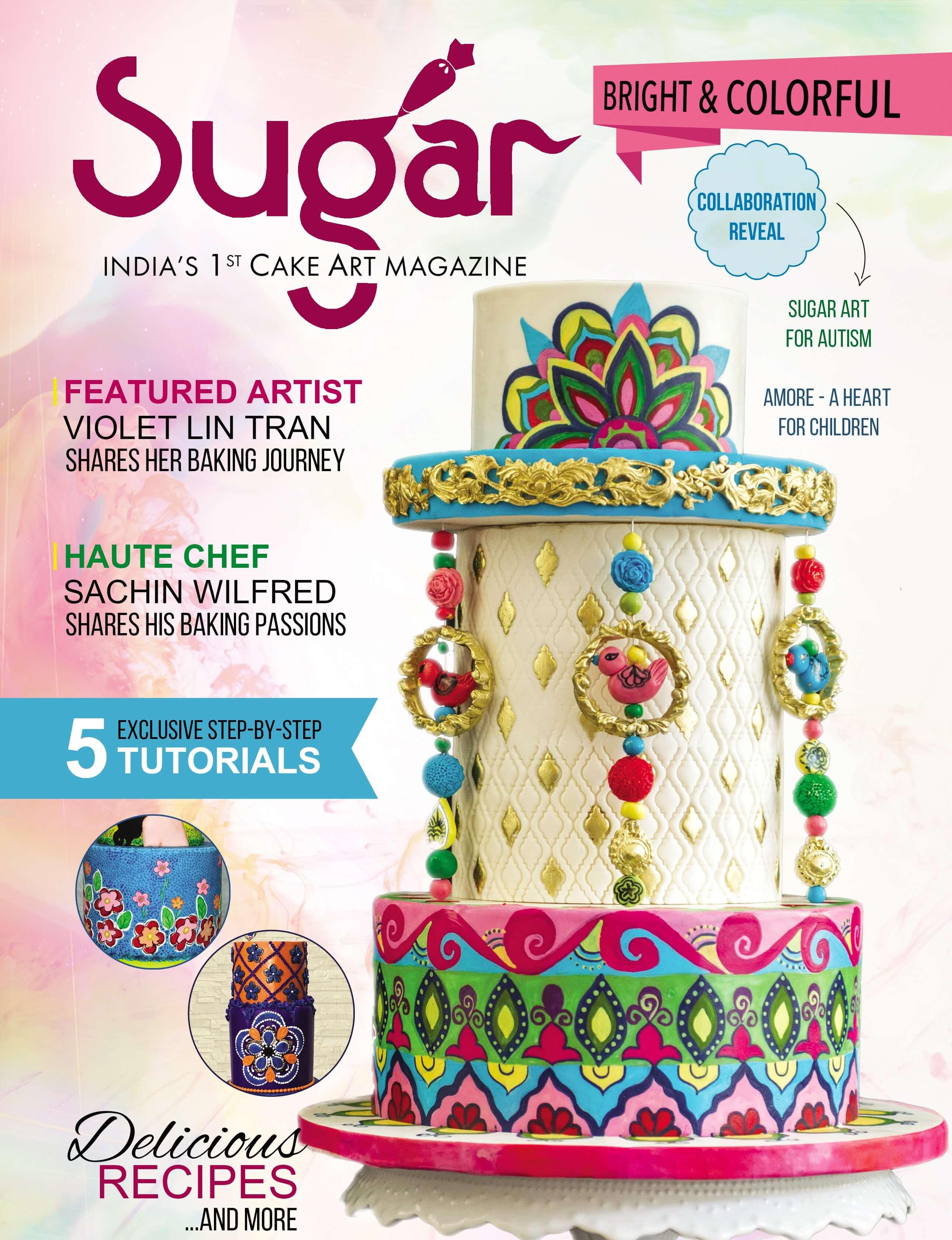 Cake magazine image