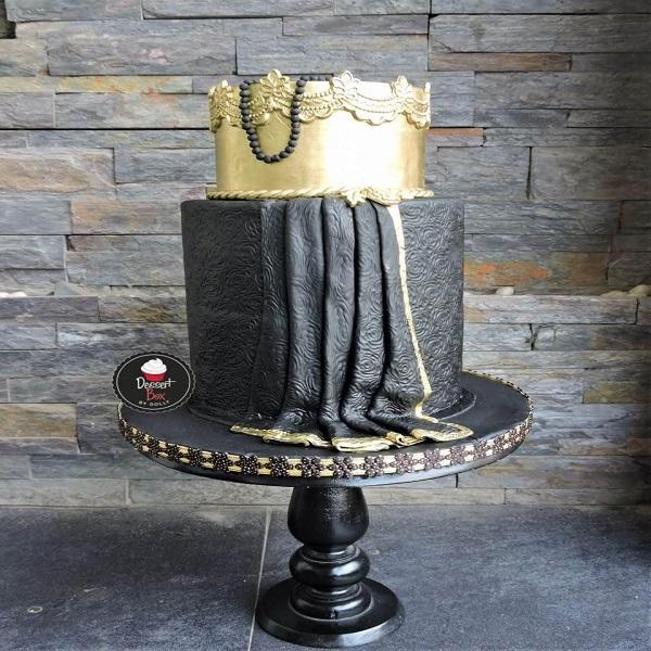 Dolly Gulwani cake 2 | bulb and key