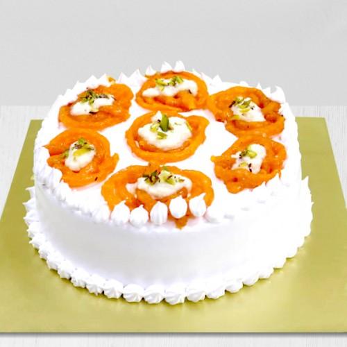 jalebi cake