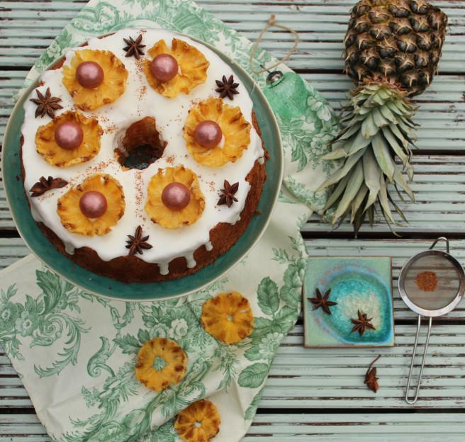 pineapple anise cake