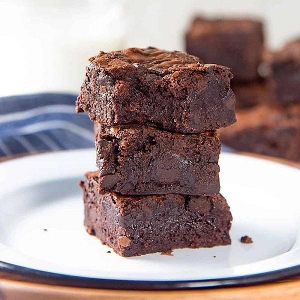 Fudge Brownies | Bulb And Key