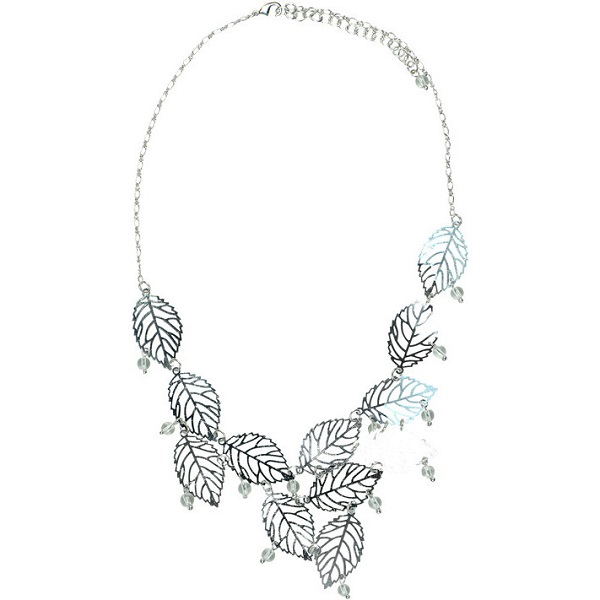 frosted-leaves-necklace