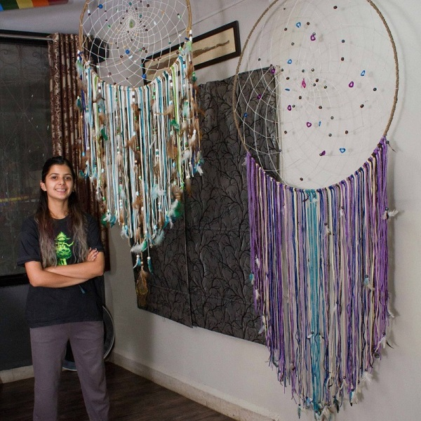 Multicolor big dream-catchers