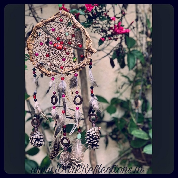 Multicolor dream catcher