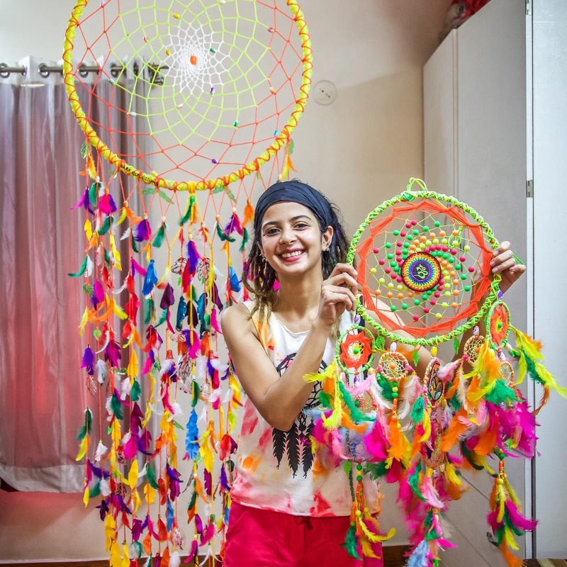 Marching to the Beat of Her Own Drum – How Home Entrepreneur Siddhi Shah made Her Dreams Come True by making Dreamcatchers