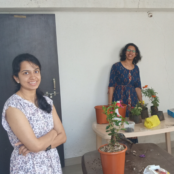 Reema's gardening