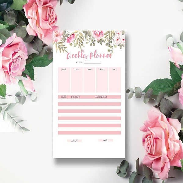 Traditional planner