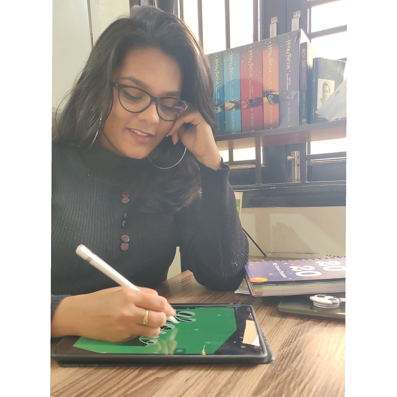 Meet This Extremely Talented Delhi University Alumna Anupriya Pandey Who Made A Career Out Of Calligraphy And Doodling