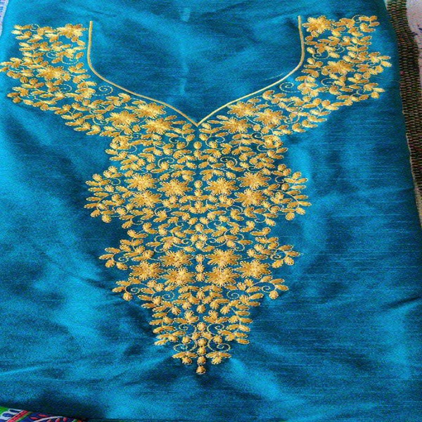 yellow Embroidery design
