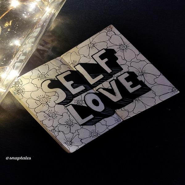 Self love Doodle