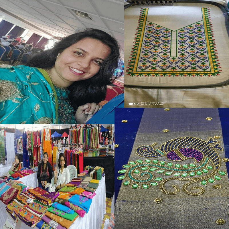 The Story Of Embroidery Artist Vibha Kshirsagar Who Makes A New Way For Herself