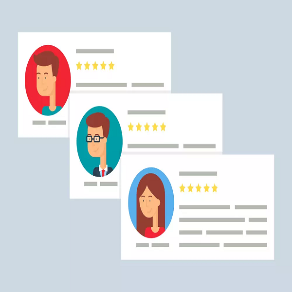 Online user reviews