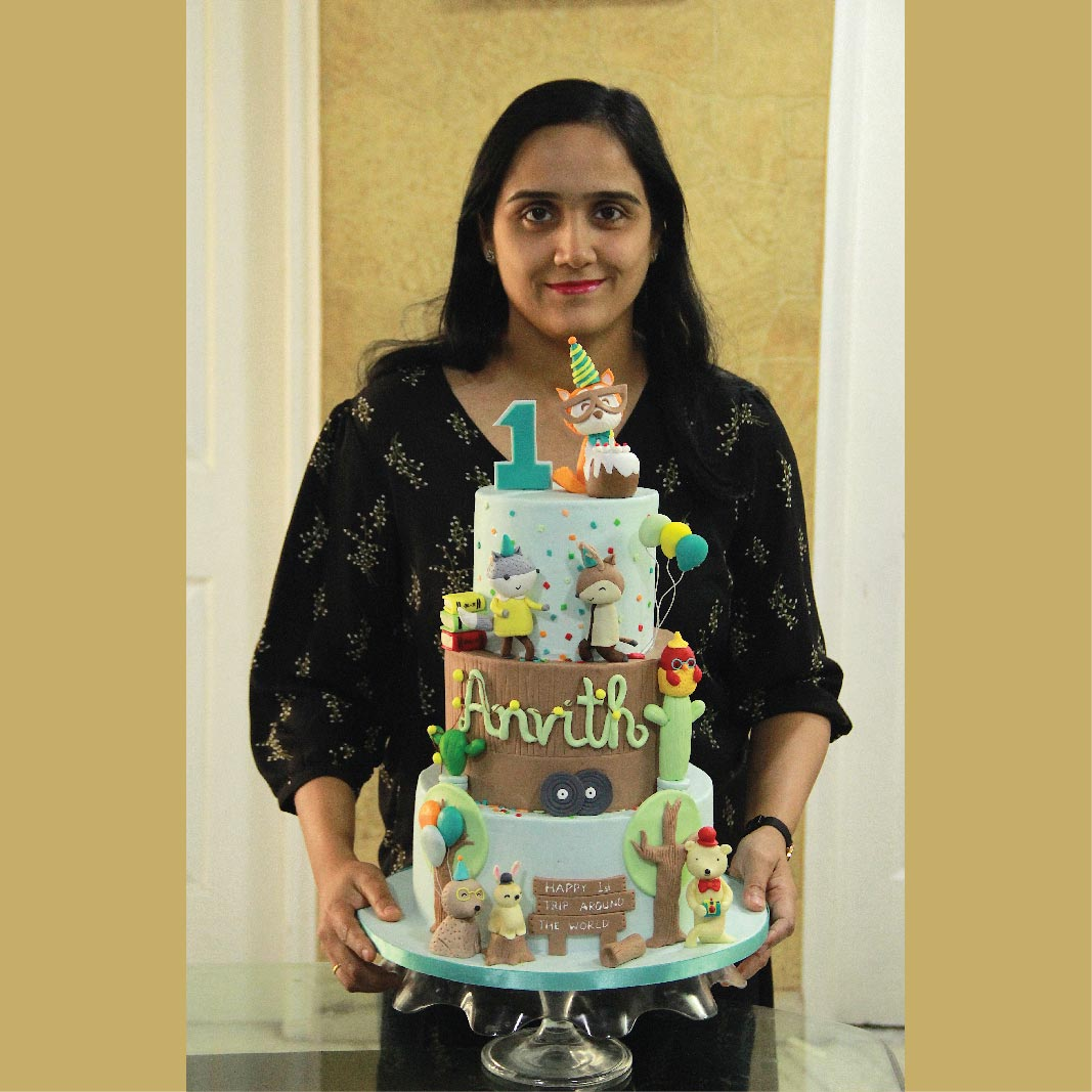 Doting Mother Turned Professional Baker – Vaishnavi Shares Her Journey With Us