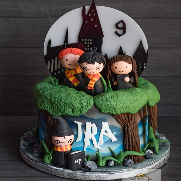 Harry Potter Cake by Anuja Sule