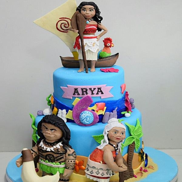 Moana Cake by Anuja Sule