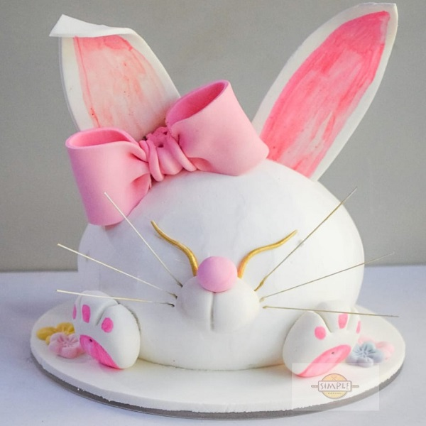 Rabbit Cake by Anuja Sule