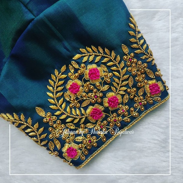 Golden Embroidery