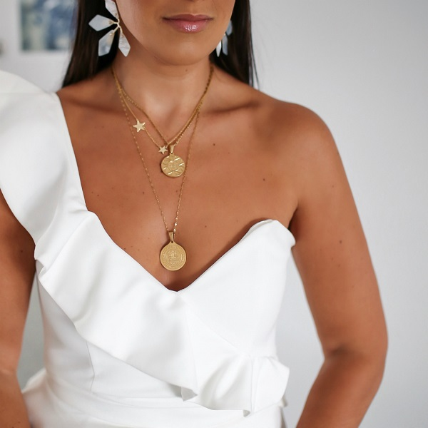 jewellery for one shoulder