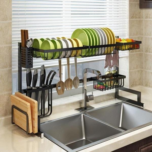 wash utensils