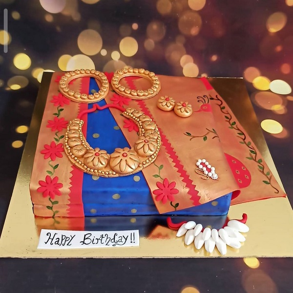 Aishwarya cake 3 | Bulb And Key